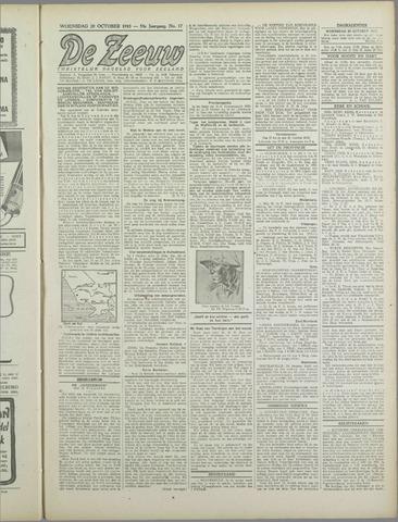 De Zeeuw. Christelijk-historisch nieuwsblad voor Zeeland 1943-10-20