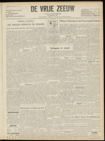 de Vrije Zeeuw 1954-11-29