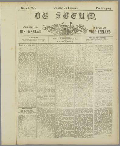 De Zeeuw. Christelijk-historisch nieuwsblad voor Zeeland 1901-02-26