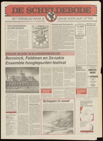 Scheldebode 1985-06-13