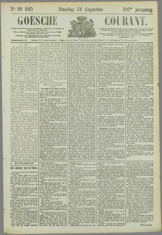 Goessche Courant 1915-08-24