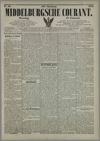 Middelburgsche Courant 1893-02-27
