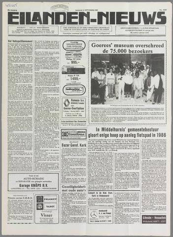 Eilanden-nieuws. Christelijk streekblad op gereformeerde grondslag 1985-09-13