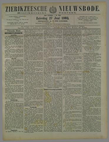Zierikzeesche Nieuwsbode 1903-06-27