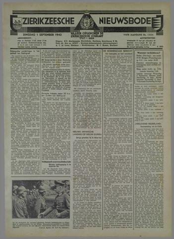 Zierikzeesche Nieuwsbode 1942-09-01
