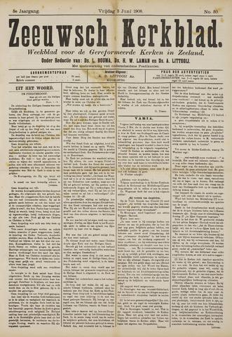 Zeeuwsche kerkbode, weekblad gewijd aan de belangen der gereformeerde kerken/ Zeeuwsch kerkblad 1908-06-05