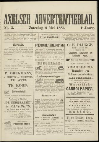Axelsche Courant 1885-05-02
