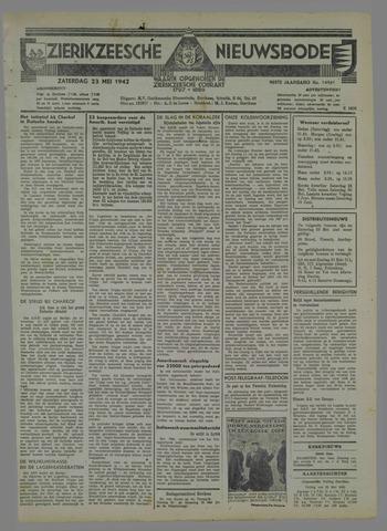Zierikzeesche Nieuwsbode 1942-05-23