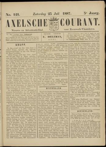 Axelsche Courant 1887-07-23