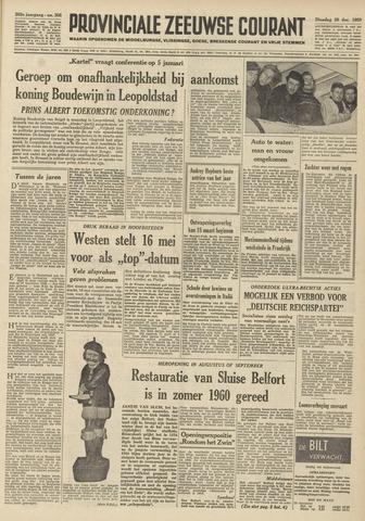 Provinciale Zeeuwse Courant 1959-12-29