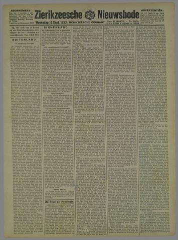 Zierikzeesche Nieuwsbode 1923-09-12