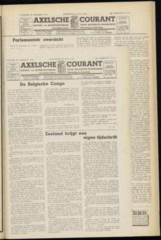 Axelsche Courant 1950-07-19