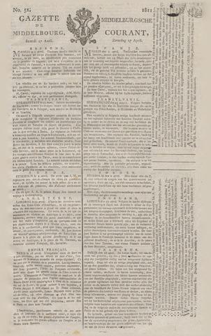 Middelburgsche Courant 1811-04-27