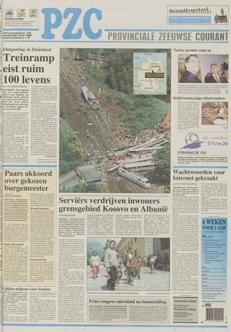 Provinciale Zeeuwse Courant 1998-06-04