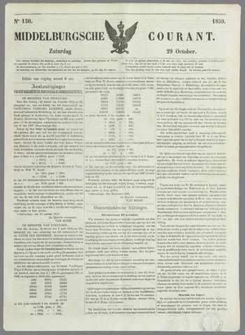 Middelburgsche Courant 1859-10-29