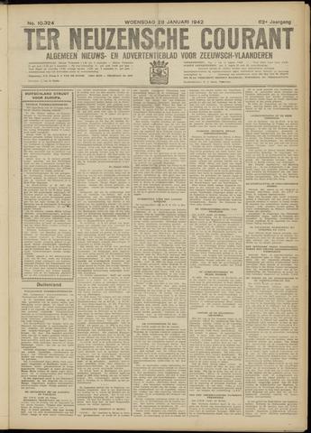 Ter Neuzensche Courant. Algemeen Nieuws- en Advertentieblad voor Zeeuwsch-Vlaanderen / Neuzensche Courant ... (idem) / (Algemeen) nieuws en advertentieblad voor Zeeuwsch-Vlaanderen 1942-01-28