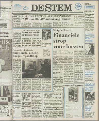 de Stem 1981-04-28