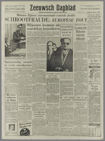 Zeeuwsch Dagblad 1959-02-20