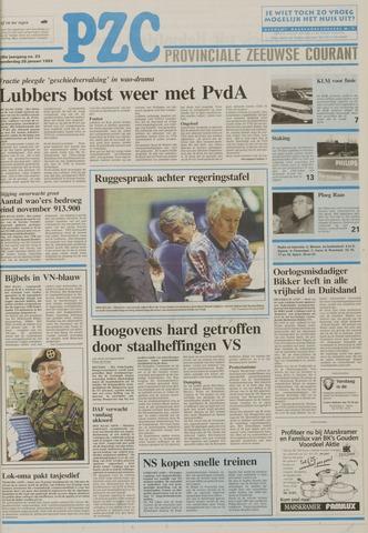 Provinciale Zeeuwse Courant 1993-01-28