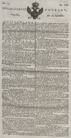 Middelburgsche Courant 1777-09-16