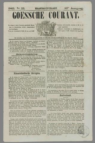 Goessche Courant 1865-03-20