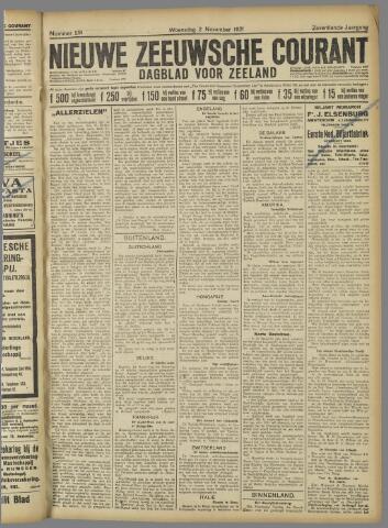 Nieuwe Zeeuwsche Courant 1921-11-02