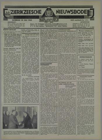 Zierikzeesche Nieuwsbode 1942-07-25