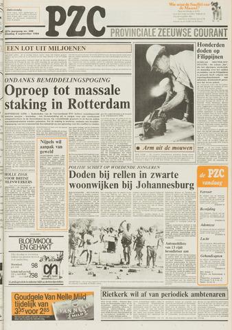 Provinciale Zeeuwse Courant 1984-09-04