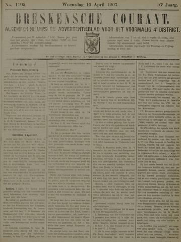 Breskensche Courant 1907-04-10