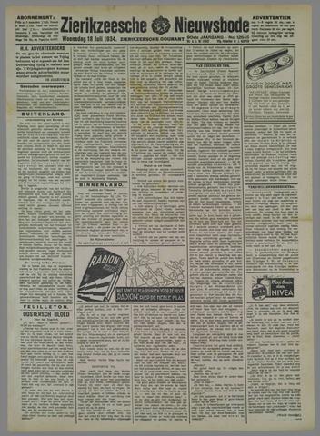 Zierikzeesche Nieuwsbode 1934-07-18