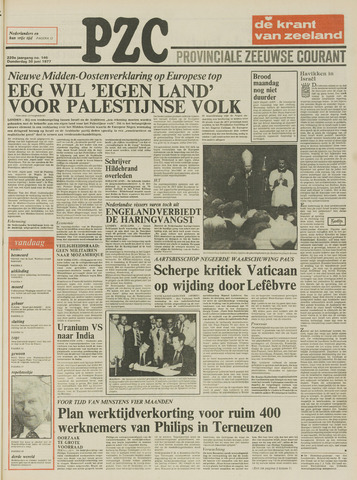 Provinciale Zeeuwse Courant 1977-06-30