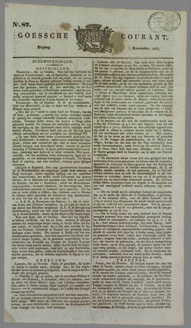 Goessche Courant 1833-11-01