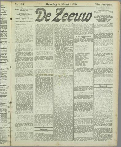 De Zeeuw. Christelijk-historisch nieuwsblad voor Zeeland 1920-03-08