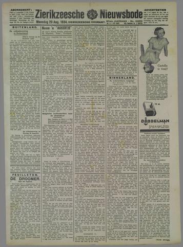 Zierikzeesche Nieuwsbode 1934-08-20