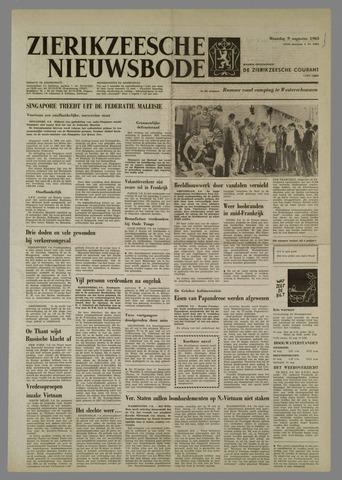 Zierikzeesche Nieuwsbode 1965-08-09