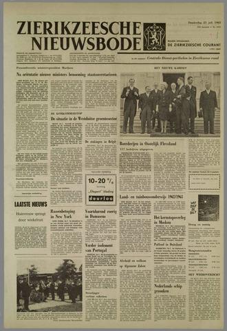 Zierikzeesche Nieuwsbode 1963-07-25