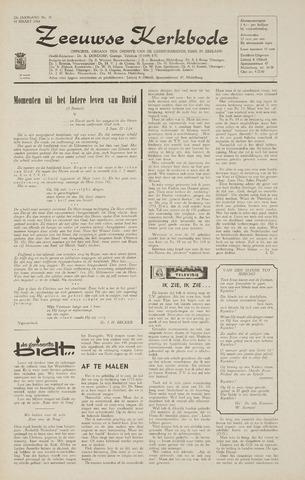 Zeeuwsche kerkbode, weekblad gewijd aan de belangen der gereformeerde kerken/ Zeeuwsch kerkblad 1968-03-14