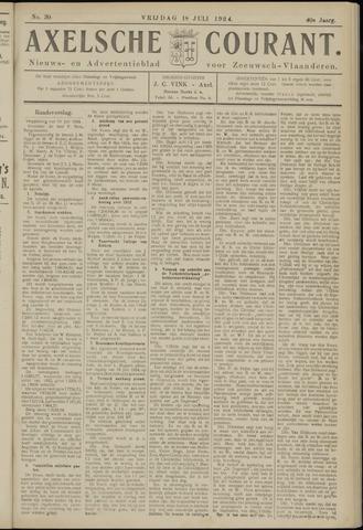 Axelsche Courant 1924-07-18