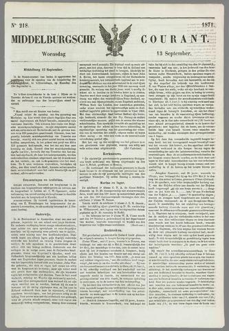 Middelburgsche Courant 1871-09-13
