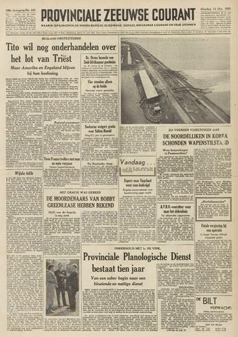 Provinciale Zeeuwse Courant 1953-10-13