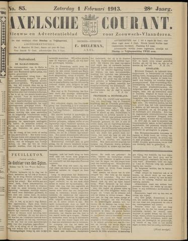 Axelsche Courant 1913-02-01