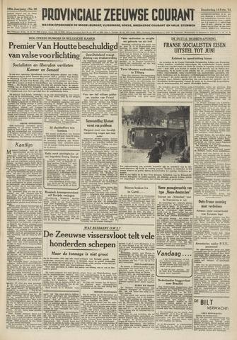 Provinciale Zeeuwse Courant 1952-02-14