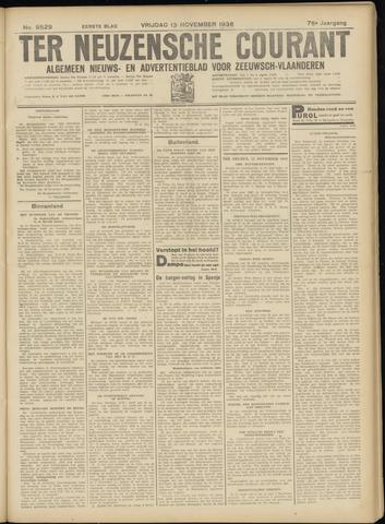 Ter Neuzensche Courant. Algemeen Nieuws- en Advertentieblad voor Zeeuwsch-Vlaanderen / Neuzensche Courant ... (idem) / (Algemeen) nieuws en advertentieblad voor Zeeuwsch-Vlaanderen 1936-11-13