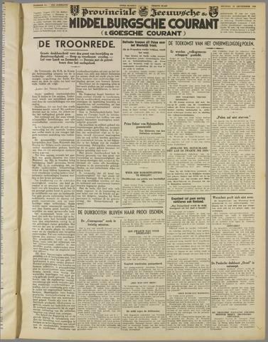Middelburgsche Courant 1939-09-19