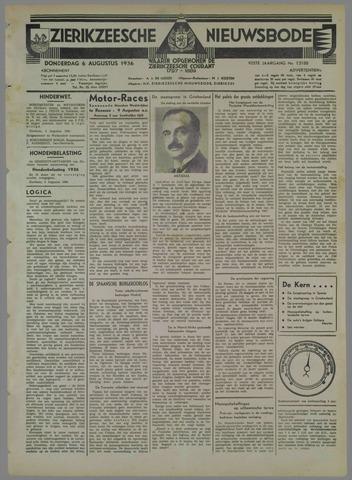 Zierikzeesche Nieuwsbode 1936-08-06