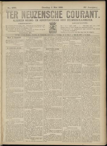 Ter Neuzensche Courant. Algemeen Nieuws- en Advertentieblad voor Zeeuwsch-Vlaanderen / Neuzensche Courant ... (idem) / (Algemeen) nieuws en advertentieblad voor Zeeuwsch-Vlaanderen 1920-05-11