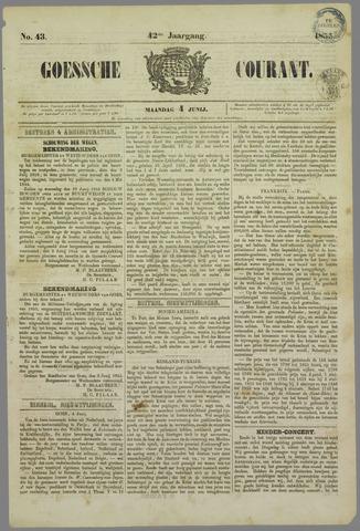 Goessche Courant 1855-06-04