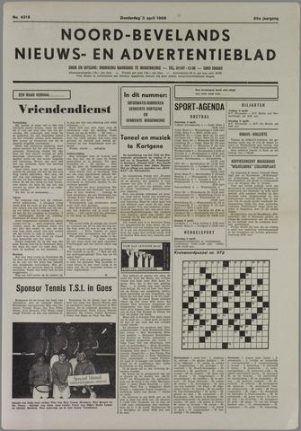 Noord-Bevelands Nieuws- en advertentieblad 1986-04-03