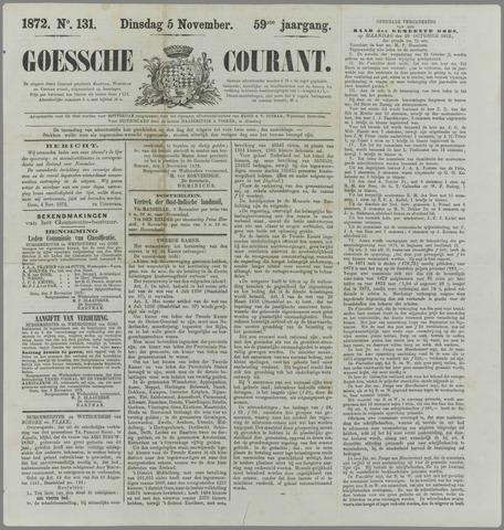 Goessche Courant 1872-11-05