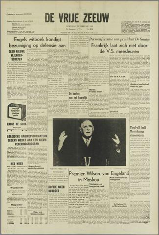 de Vrije Zeeuw 1966-02-23